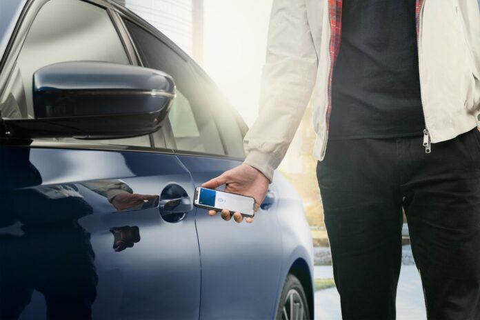 Apple llave digital BMW Apple anuncio que BMW será el primer fabricante en utilizar Apple CarKey