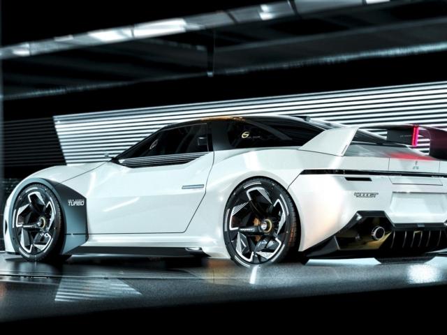 Mitsubishi 3000GT futuro render