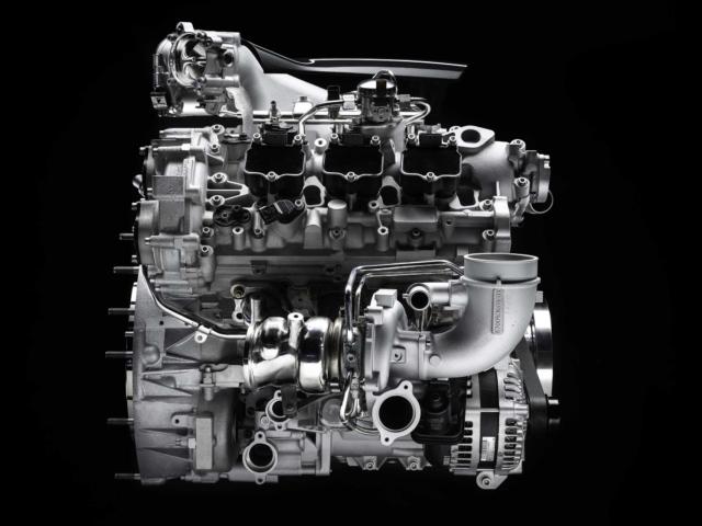 Motor Maserati MC20
