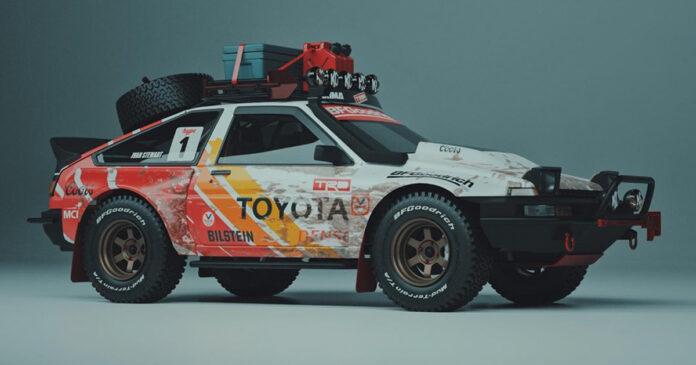 Toyota Corolla AE86 todoterreno