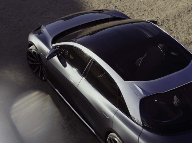 Lucid Air competencia Tesla