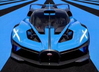 Bugatti Bolide más potente