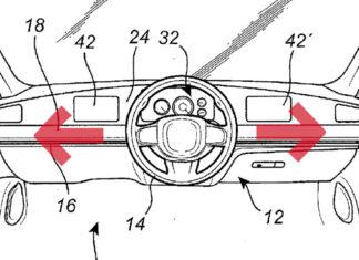 Volvo volante cambia lado