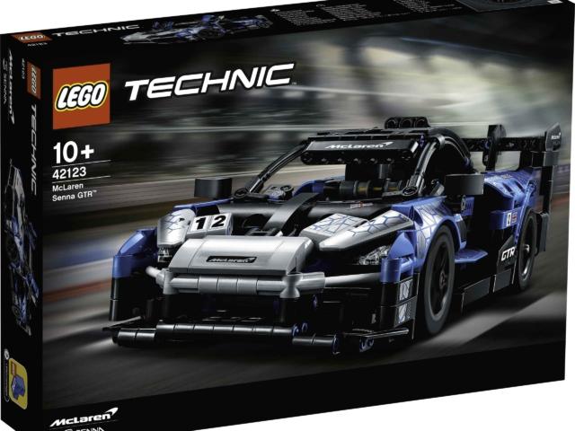 McLaren Senna GTR Lego