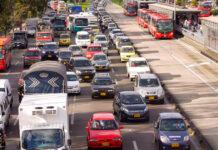 Bogotá impuestos vehículos