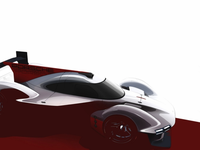 Porsche LMDh prototipo