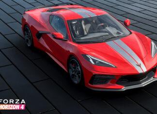 Forza Horizon Corvette C8