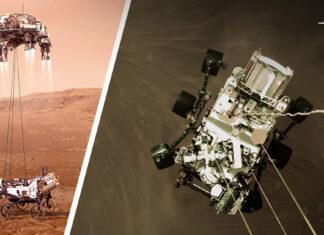 Vehículo Perseverance Marte