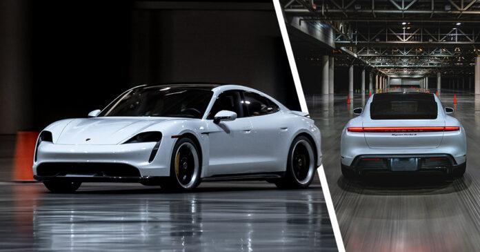 Porsche Taycan récord