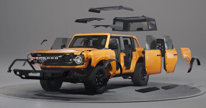 Ford Bronco personalizado