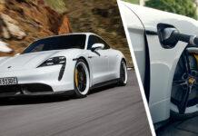 Porsche Taycan actualización