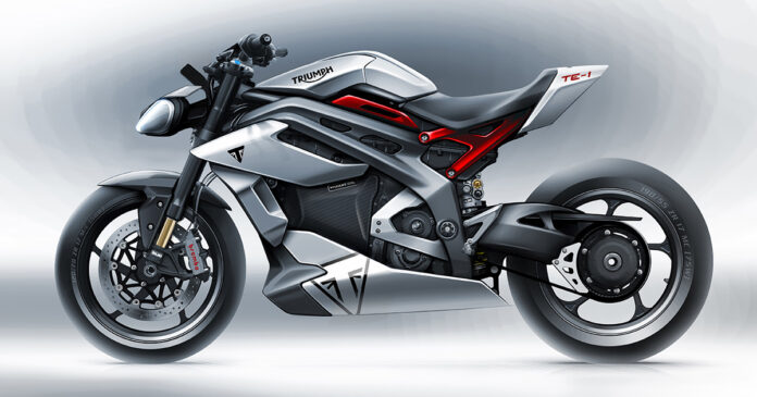 moto Triumph eléctrica