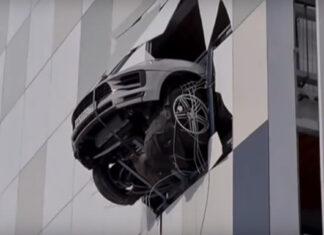 Accidente Porsche Macan