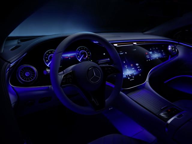 interior Mercedes-Benz EQS