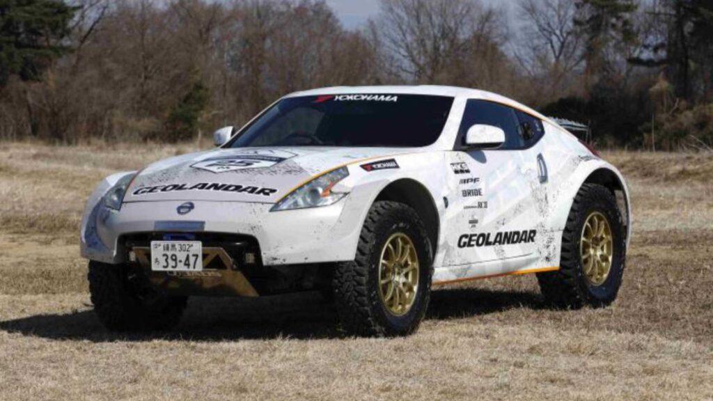 Nissan 370Z neumáticos todoterrenos