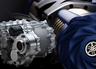 Yamaha motor eléctrico superdeportivos
