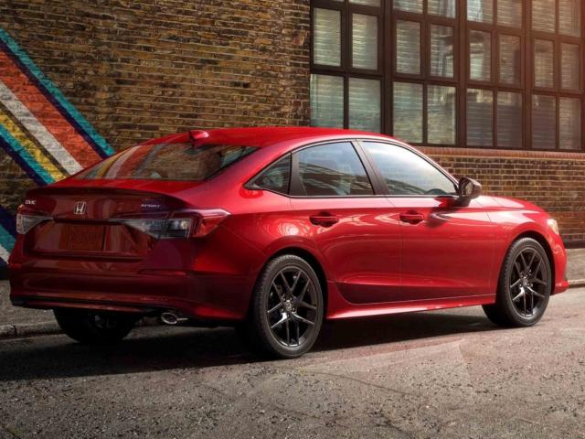 Honda Civic 2022 8