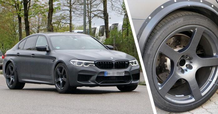 BMW M5 espía