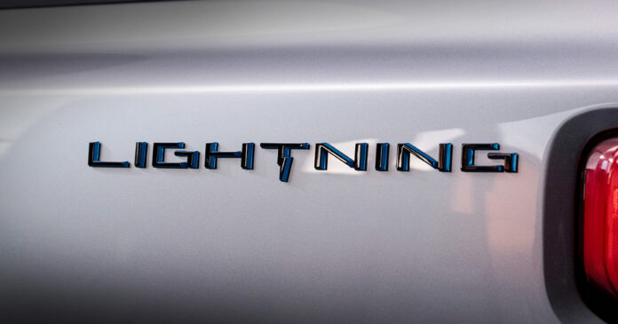 Ford F-150 Lightning eléctrica