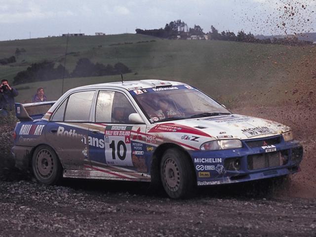 Mitsubishi Ralliart 5