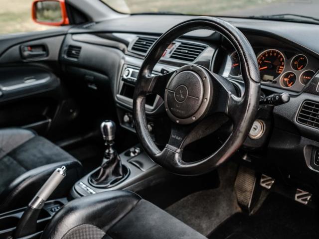 Mitsubishi Evo Accidente 5