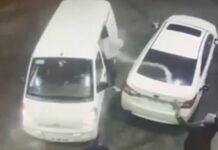 Hombre Gasolina Gasolina robo
