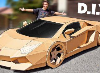 Lamborghini cartón