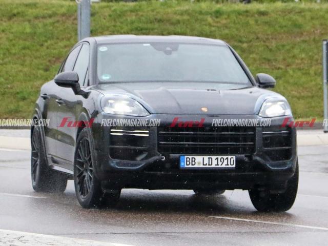 Porsche Cayenne facelift espía