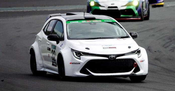 Toyota Sport Corolla hidrógeno