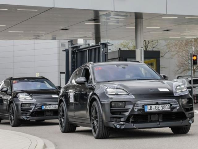 Porsche Macan eléctrico 7