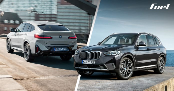 BMW X3 X4 2022