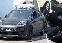Porsche Macan EV interior