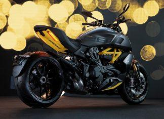Ducati Diavel Black Steel