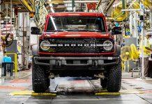 Ford Bronco producción
