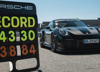 récord Nürburgring 911 GT2