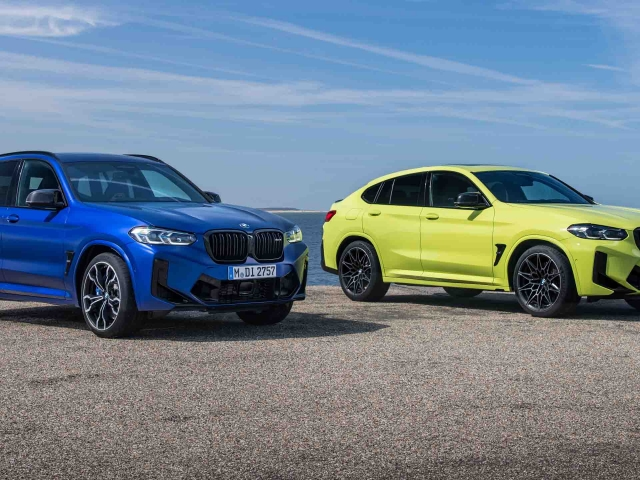 BMW X3 X4 M Competition