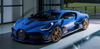 último Bugatti Divo