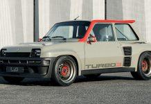 Renault 5 Turbo restomod