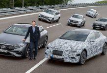 Mercedes-Benz electrificación