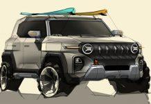 SsangYong X200 Jeep