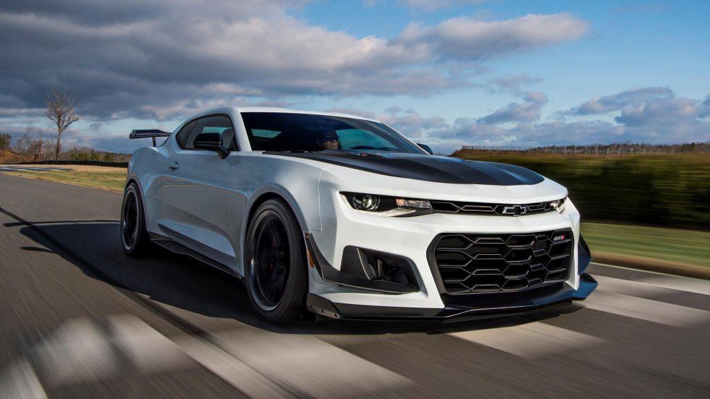 Chevrolet Camaro eléctrico 2024