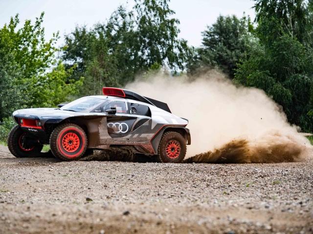 Audi RS Q e-tron Dakar 3