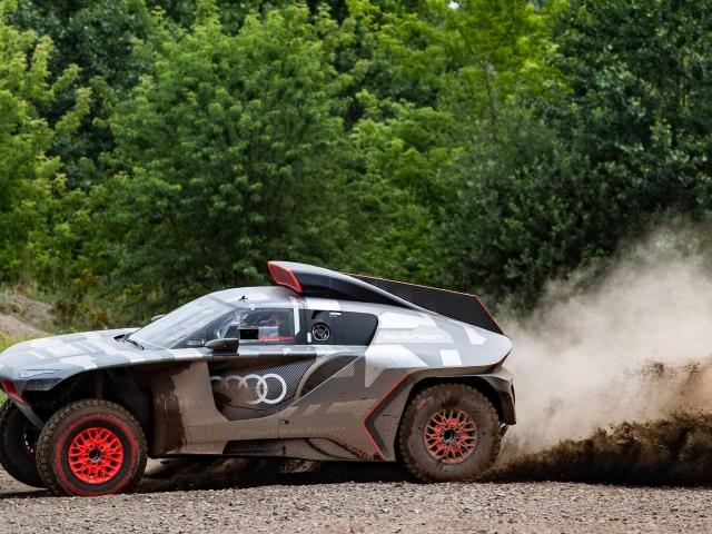 Audi RS Q e-tron Dakar 6