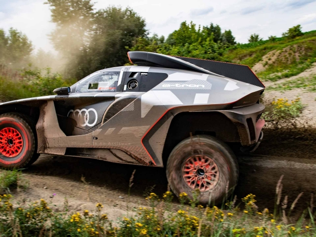 Audi RS Q e-tron Dakar 9