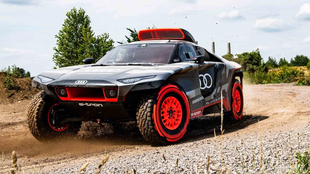 Audi RS Q e-tron Dakar 12