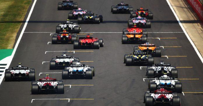 formato clasificación Fórmula 1