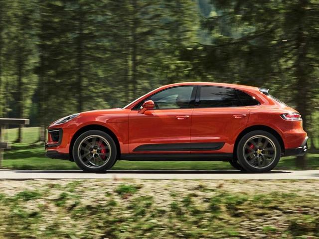 Porsche Macan facelift 2022 2