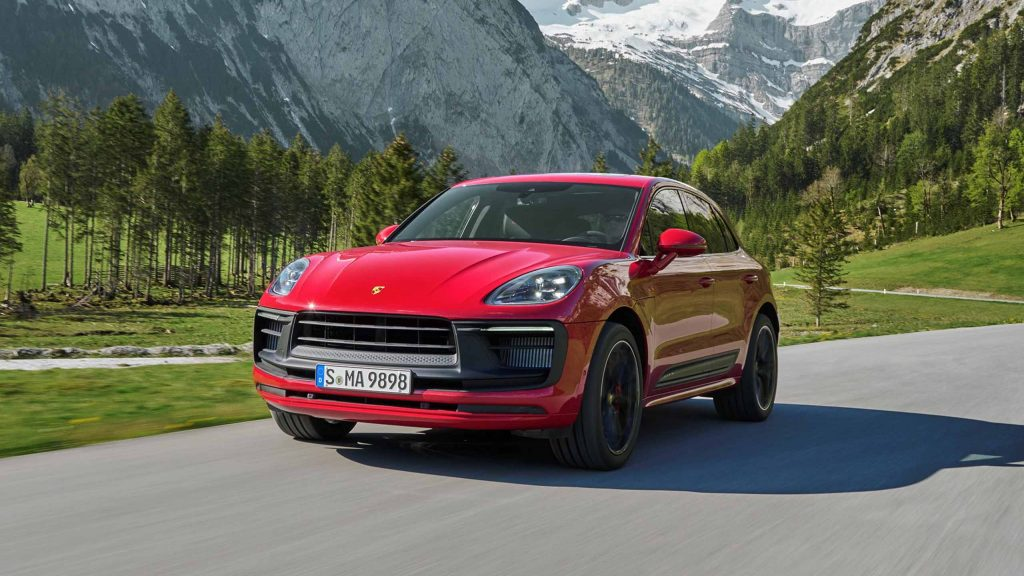 Porsche Macan facelift 2022 3
