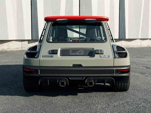Renault 5 Turbo 3 restomod 3