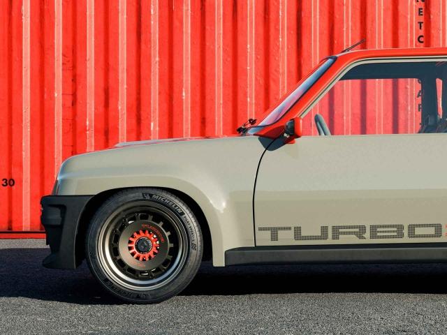 Renault 5 Turbo 3 restomod 4
